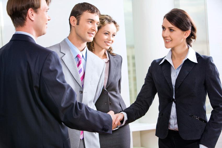 при деловом этикета правила знакомстве