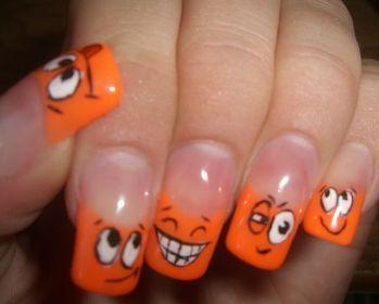 на красивые рисунки на ногтях