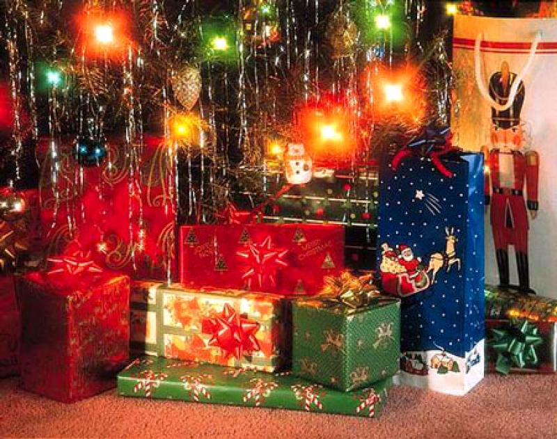 Когда дарят подарки на рождество в сша