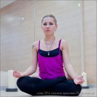 Йога правит миром, Занятия йогой в салоне Перфекшен на Кутузовском